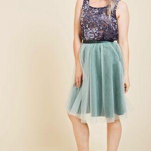 The Latest in Lavish Tulle Skirt